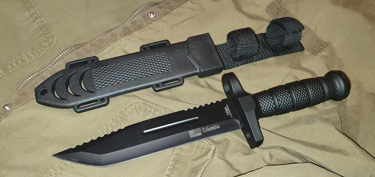 Нож охотничий Columbia 2075 56HRC 440C