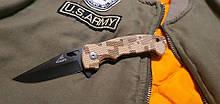 Складной нож BG AK-1 с камуфлированной рукоятью