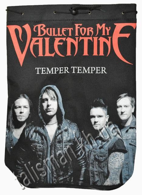 BULLET FOR MY VALENTINE - Temper Temper - рок-рюкзак