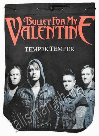 BULLET FOR MY VALENTINE - Temper Temper - рок-рюкзак, фото 2