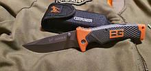 Нож складной Bear Grylls Gerber EE-7 с серейтором реплика для охоты и туризма