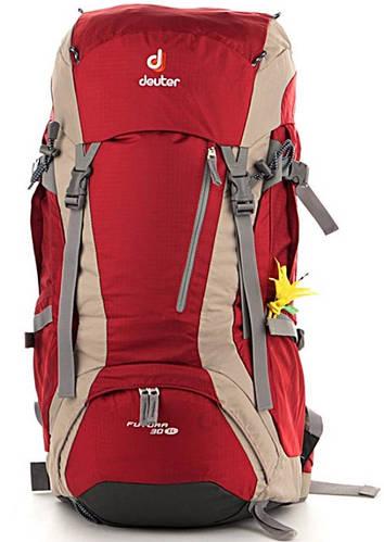 Женский оригинальный туристический рюкзак на 30 л. DEUTER Futura 30 SL 34241 5606 красный