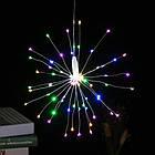Гирлянда Одуванчик, Фейерверк, 50 LED, 25 нитей, Мультицветная, проволока, 1шт., от сети., фото 3