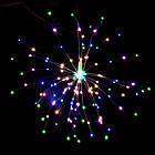 Гирлянда Одуванчик, Фейерверк, 50 LED, 25 нитей, Мультицветная, проволока, 1шт., от сети., фото 4