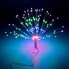 Гирлянда Одуванчик, Фейерверк, 50 LED, 25 нитей, Мультицветная, проволока, 1шт., от сети., фото 7
