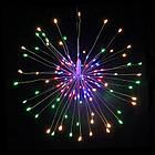 Гирлянда Одуванчик, Фейерверк, 50 LED, 25 нитей, Мультицветная, проволока, 1шт., от сети., фото 8