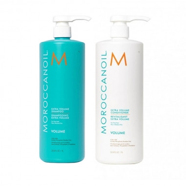 Шампунь + Кондиционер для объема Moroccanoil Extra Volume Shampoo 2X1000 мл.