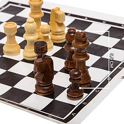 Фигурки для шахмат комплект шахматных фигур. Король 5,5 см. Материал - дерево