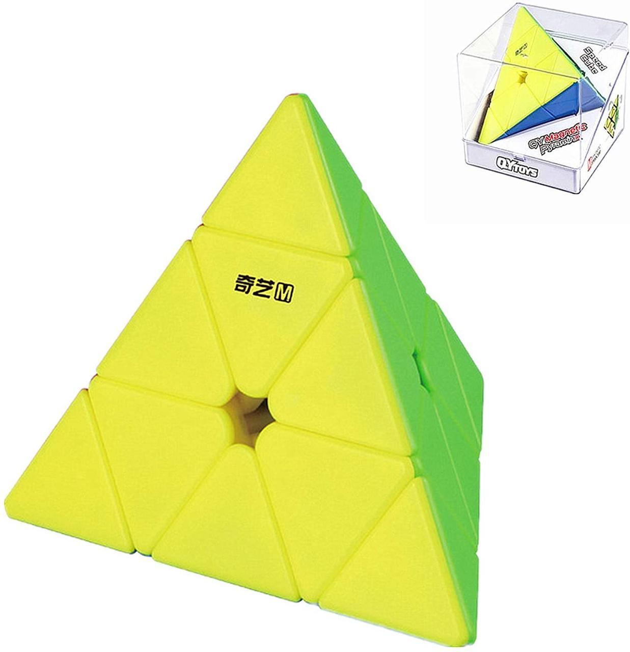 Пирамидка Рубика 3х3 магнитная QiYi Pyraminx MS (Magnetic)