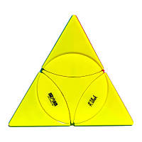 Пирамидка Рубика Coin Tetrahedron (QiYi) (без наклеек), фото 1