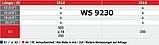 WS 9230 : нержавеющий саморез с шестигранной головкой и прямым шлицем с полиамидной шайбой, фото 4