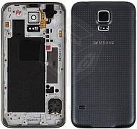 Корпус для Samsung Galaxy S5 G900, серый, оригинал