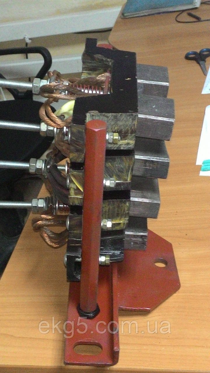 Токоприемник кольцевой черт. номер 314 А 2 на ЭО - 2503/2505