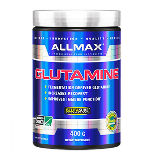 Глютамин AllMax Nutrition GLUTAMINE 400 г