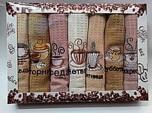 Набор Вафельных кухонных полотенец «НЕДЕЛЬКА»Турция