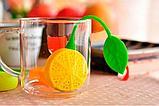 Заварник для чая силиконовый (лимон), фото 3