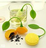 Заварник для чая силиконовый (лимон), фото 4