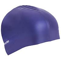 Силиконовая шапочка для плавания в басейне. Взрослая - MadWave METAL