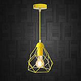 Подвесной светильник RUBY E27 желтый, фото 2