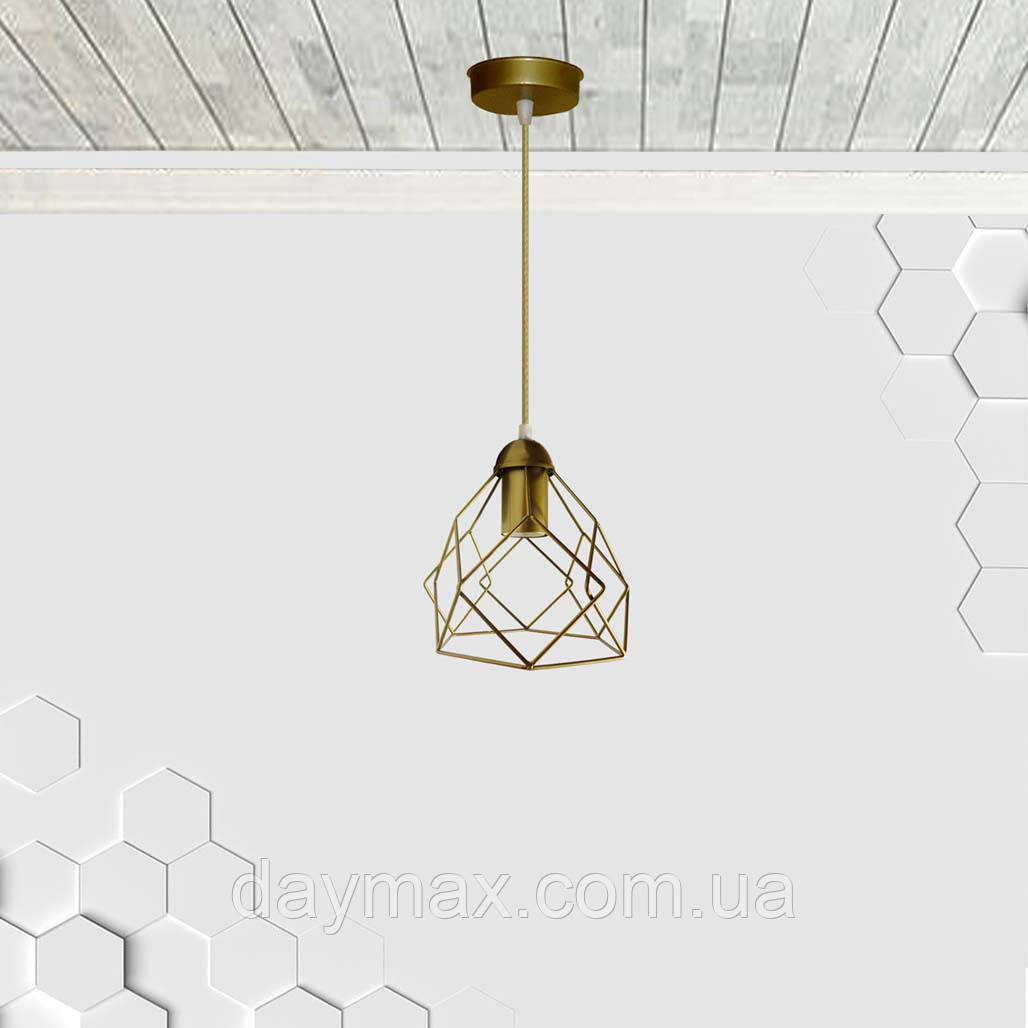 Подвесной светильник RUBY E27 золото