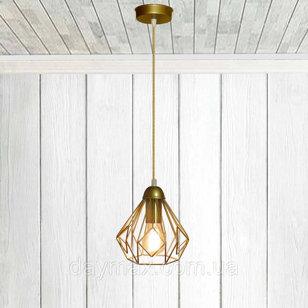 Подвесной светильник SKRAB E27 золото