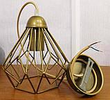 Подвесной светильник SKRAB E27 золото, фото 9