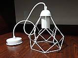 Подвесной светильник RUBY E27 белый, фото 3