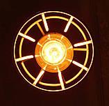 Подвесная люстра паук на 8-ламп SANDBOX-8 E27 белый 1,5м., фото 5