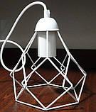 Подвесная люстра на 4-лампы RUBY-4 E27 белый, фото 5
