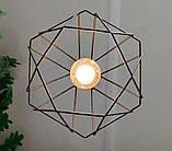 Подвесная люстра паук на 8-ламп CLASSIC-8 E27 чёрный 1,5м., фото 6