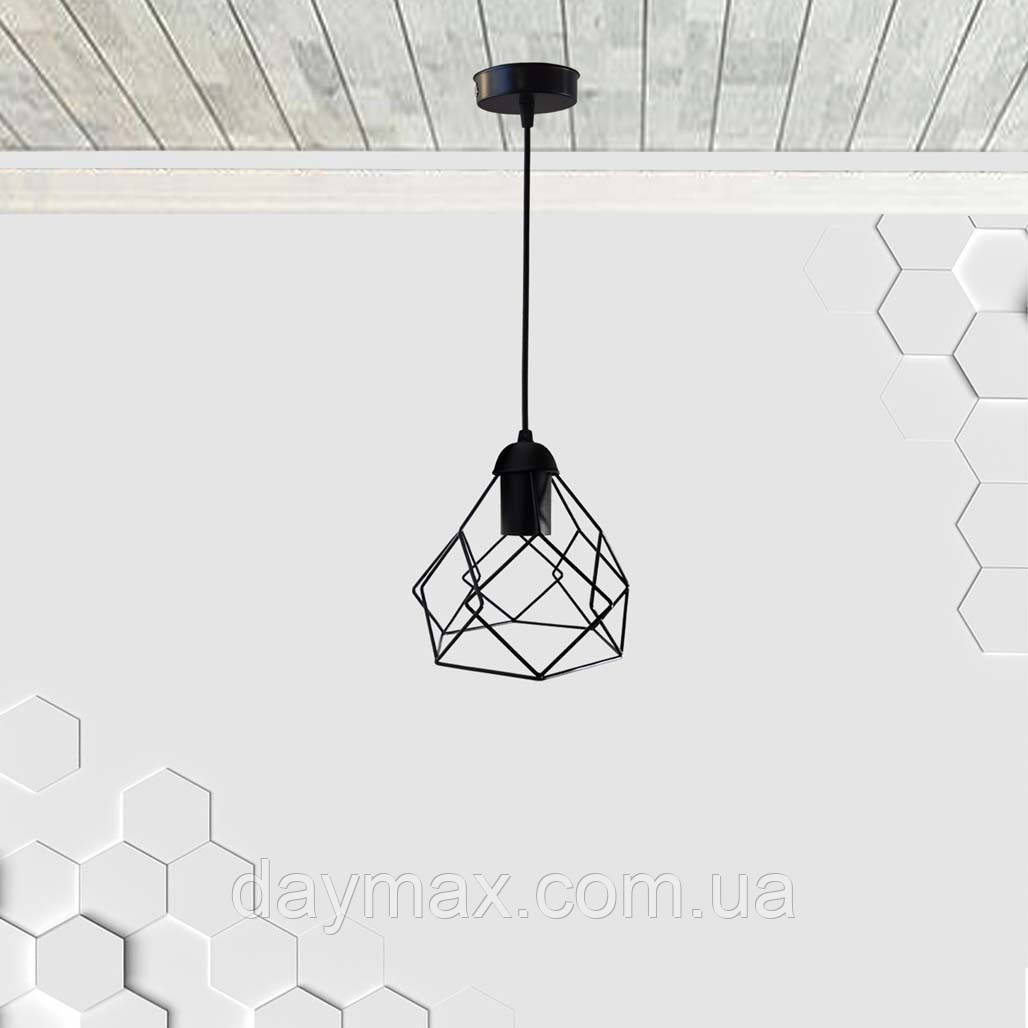 Подвесной светильник RUBY E27 чёрный