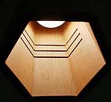 Подвесная люстра MONA-3 E27  на 3-лампы, темное  дерево, фото 6
