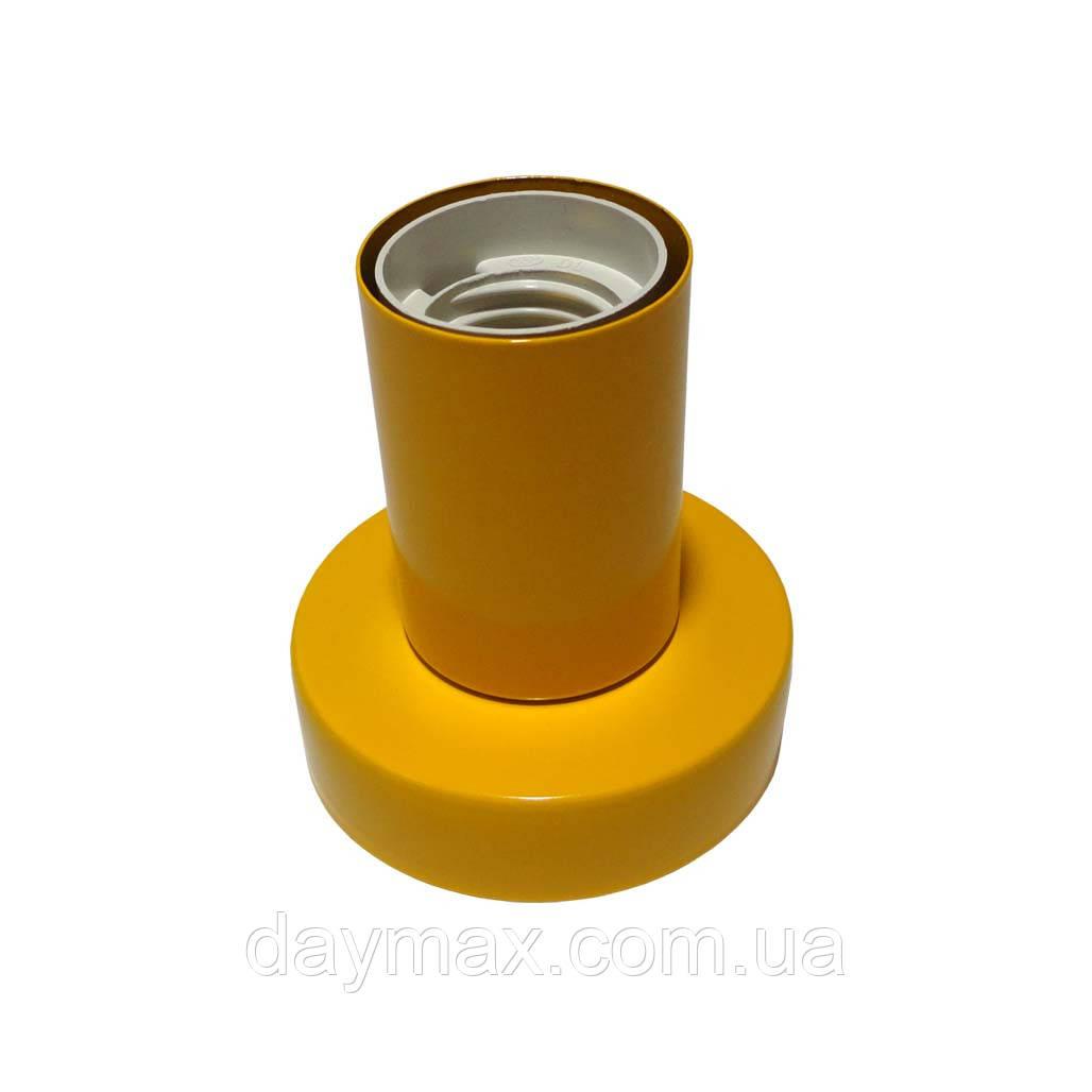Светильник бра настенно-потолочный на 1-лампу BASE  E27 оранжевый