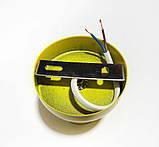 Светильник бра настенно-потолочный на 1-лампу BASE  E27 желтый, фото 4