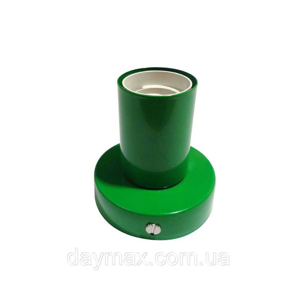 Светильник бра настенно-потолочный на 1-лампу BASE  E27 зеленый