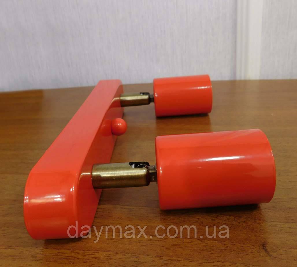 Спот поворотный на 2-лампы SLEEVE-2  E27 красный