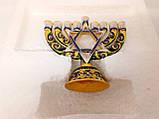 Подсвечник Ханукия бронзовый на 9 свечей, фото 3