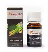 Эфирное масло Лимонной травы Aromatika Oil Lemongrass 10ml.