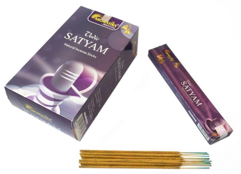Ароматичні палички пилкові Aromatika Vedic Satyam