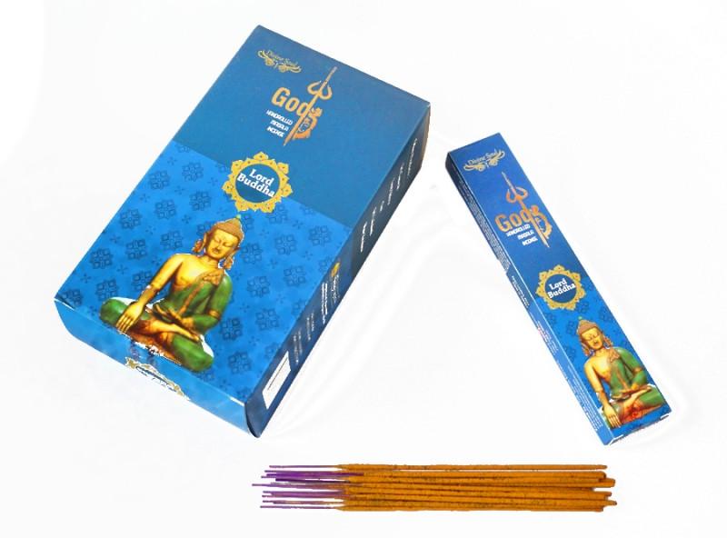 Аромапалички натуральні індійські пахощі Господь Будда Divine Soul Lord Buddha