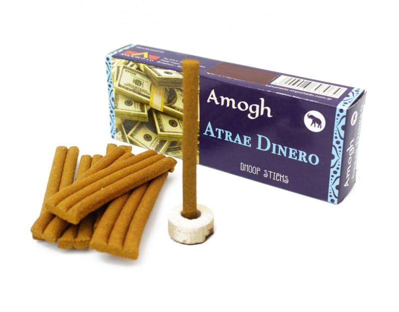 Аромапалочки Привлечение денег Amogh dhoop Attract money безосновные