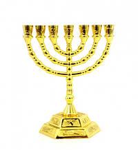 Подсвечник Менора латунный на 7 свечей