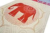 "Коврик для йоги ""Слон на бежевом"", фото 3"