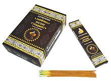 Аромапалочки натуральные индийские благовония Ayurvedic Oudh 20 грамм