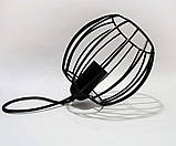 Подвесная люстра на 5-ламп BARREL-5 E27 чёрный, фото 2