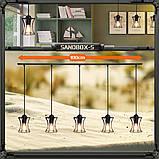 Подвесная люстра на 5-ламп SANDBOX-5 E27 чёрный, фото 10