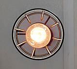 Подвесная люстра паук на 8-ламп SANDBOX-8 E27 чёрный 1,5м., фото 6