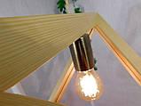 Подвесной светильник TRIANGLE E27 на 1-лампу, светлое дерево, фото 5