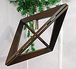 Подвесной светильник TRIANGLE E27 на 1-лампу, темное дерево, фото 6