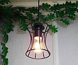 Подвесная люстра на 3-лампы SANDBOX-3G E27 на круглой основе, чёрный, фото 2